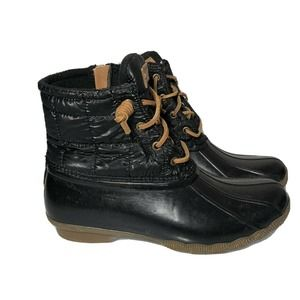 Sperry Saltwater womens 8.5  Quilted boots